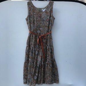 Coldwater Creek Medallion Long Sun Dress NWT #1312